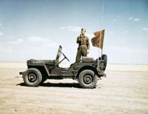 Willys времён Второй мировой на электрическом ходу