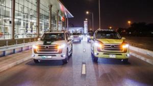 Toyota Land Cruiser 300 поступили на службу полиции