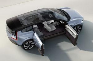 Volvo Concept Recharge анонсирует флагманский внедорожник