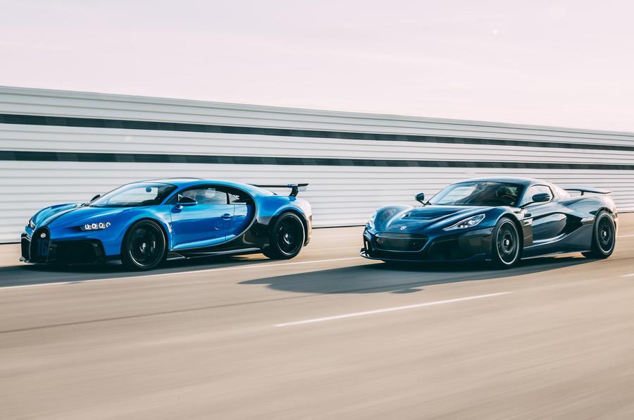 Bugatti и Rimac
