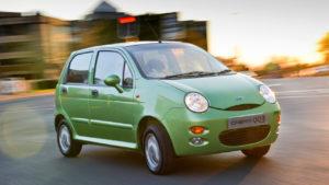 Chery QQ малыш возвращается в виде электромобиля