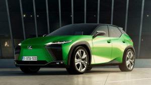 Lexus UX 300e первый электрический кроссовер компании
